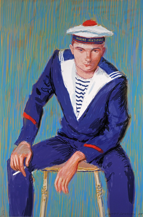 14323 David HOCKNEY A Bigge